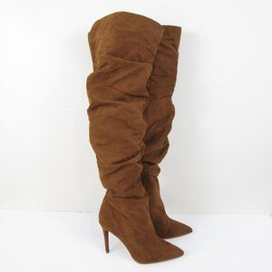 Jessica Simpson Brown Luxella 2 Over The Knee Boot